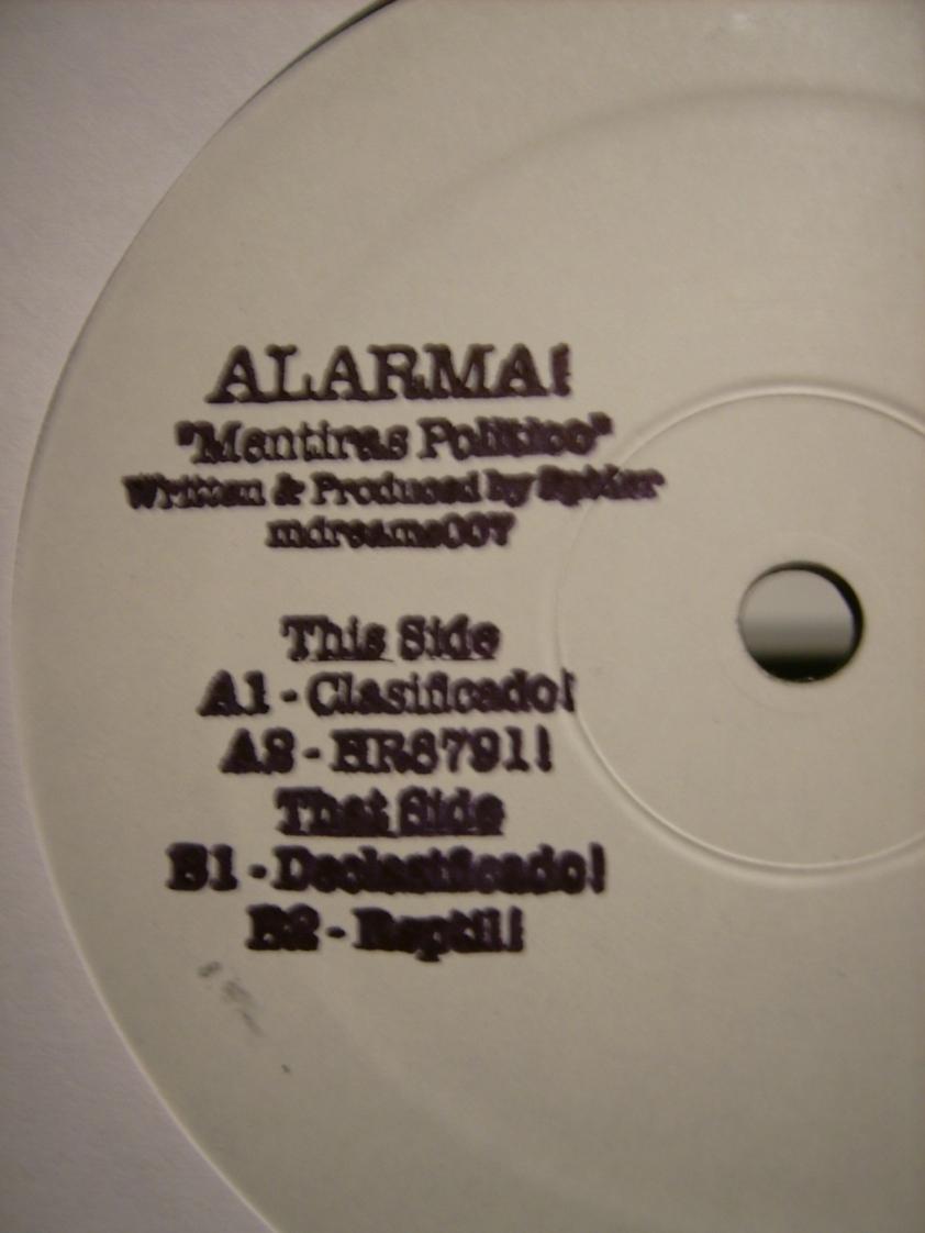 Alarma Stamp
